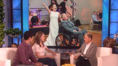Ellen's incredible gift for the bride that shared a dance with her terminally ill father