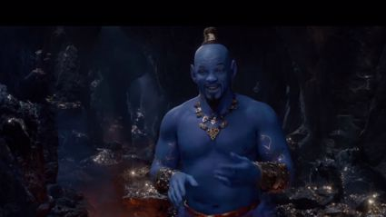 Watch the brand new teaser trailer for the new Aladdin movie!