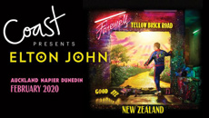 Win a double pass to Elton John in New Zealand!