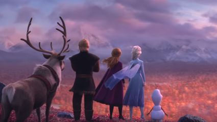 Watch the brand new teaser trailer for Frozen 2