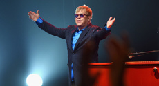 Elton's exciting Auckland news
