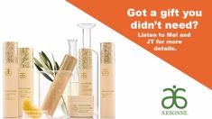 Win An Arbonne RE9 Advanced Gift Set Valued At $608 with Mel & JT