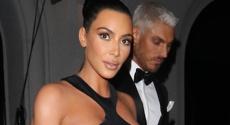 Kim shocks with dress