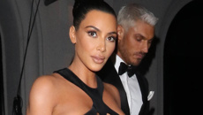 Kim Kardashian shocks after stepping out in an extremely controversial dress