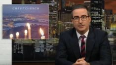 "John Oliver comments of New Zealand's ""amazing"" response to the Christchurch terror attack"