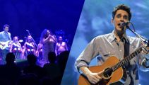 John Mayer pays tribute to Christchurch in concert
