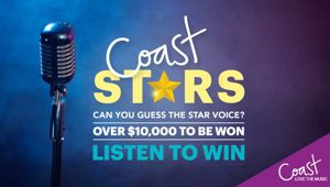 Coast Stars - Be in to Win $10,000!