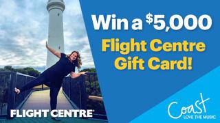 Win a $5,000 Flight Centre travel voucher!