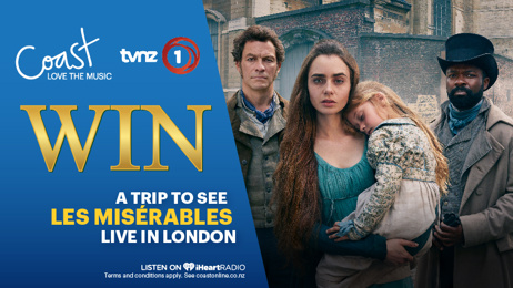 Win a trip to see Les Misérables live in London!