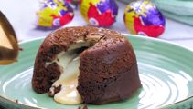This recipe combines Lava cakes and Cadbury Creme Eggs to make the ULTIMATE Easter treat!