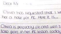 What this mother did when her daughter asked her to write a fake sick note is AWESOME!