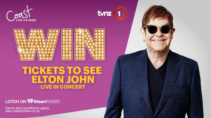 Win a trip to see Elton John!