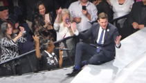 Michael Bublé is left speechless after security guard sings flawless rendition of Etta James' 'At Last' at concert
