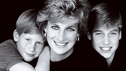 An artist has painted a picture of Princess Diana with her sons today - and the results will make you emotional!