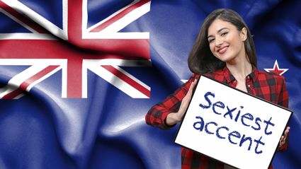 Study reveals the New Zealand accent has been rated as the 'sexiest' in the world!