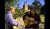 Rare footage of John Denver and Johnny Cash singing Take Me Home, Country Roads