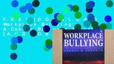 Workplace Bullying with Dr Natalia D'Souza