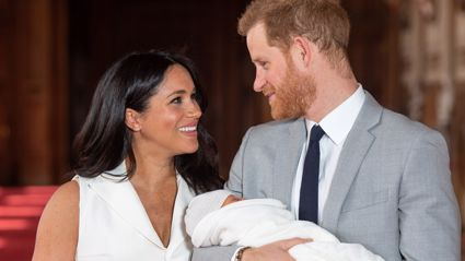 Meghan Markle celebrated her first Mother's Day with a new photo of Archie honouring Princess Diana