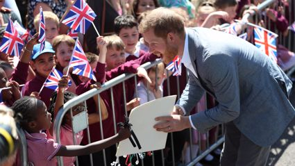 Prince Harry just got the most adorable piece of parenting advice from a seven-year-old girl