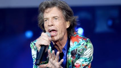 Sir Mick Jagger is back on his feet and has still got his signature dance moves following heart surgery