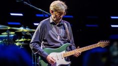 Eric Clapton performs EPIC cover of Prince's 'Purple Rain' featuring a killer guitar solo