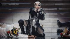 "Madonna slammed following ""awful"" performance of 'Like A Prayer' at the Eurovision Song Contest"