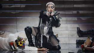"""Madonna slammed following """"awful"""" performance of 'Like A Prayer' at the Eurovision Song Contest"""