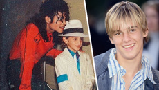 "Aaron Carter claims Michael Jackson behaved ""inappropriately"" around him as a child"
