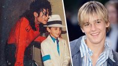 """Aaron Carter claims Michael Jackson behaved """"inappropriately"""" around him as a child"""
