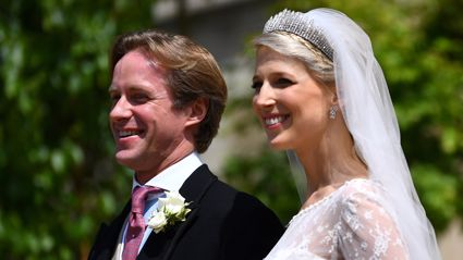 Lady Gabriella Windsor debuts second wedding dress from their reception and it is STUNNING!
