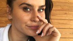 Millie Elder-Holmes debuts bold new full neck tattoo