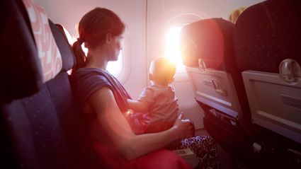 Mother's powerful message to a passenger who complained about her toddler during a flight goes viral
