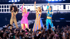 SPICE GIRLS ARE BACK BUT NOT WITHOUT A GLITCH