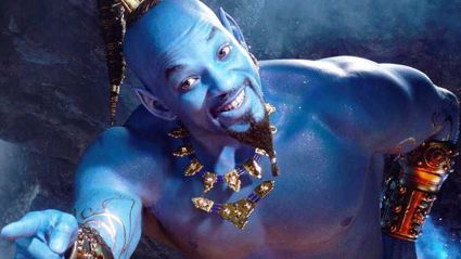 Will Smith sneaks into  Aladdin screening ... unnoticed!
