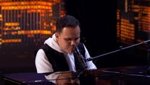 Blind autistic singer leaves America's Got Talent judges in tears with spine-tingling piano performance