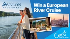 Win an Avalon Waterways Active & Discovery on the Rhine River Cruise!