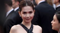 Vietnamese model faces fine for wearing EXTREMELY revealing dress on Cannes red carpet