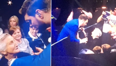Michael Bublé sings beautiful duet live on stage with 90-year-old fan!