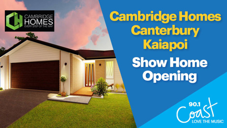 CHRISTCHURCH: Cambridge Homes Kaiapoi Show Home
