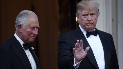 Donald Trump makes embarrassing spelling mistake when writing Prince Charles' official title