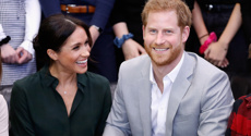 The Queen's never-before-seen photo of Harry and Meghan spotted in Buckingham Palace