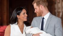 Prince Harry and Meghan Markle release first photo of baby Archie's face for Father's Day!