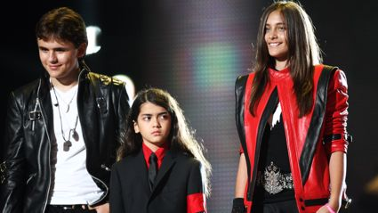It has been revealed Michael Jackson's kids still carry him with them ... literally