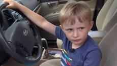 The horrifying moment a 4-year-old takes car and DRIVES to get chocolate