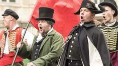 James Corden takes on 'Les Misérables' for the most hilarious 'Crosswalk Musical' in Paris!