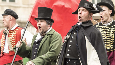 James Corden takes on 'Les Misérables' for the most hilarious 'Crosswalk Musical' in Paris!