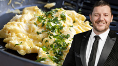 MKR host Manu Feildel shares his secret for PERFECT scrambled eggs every time!