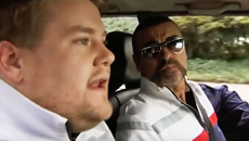 Watch George Michael with James Corden in the first ever 'Carpool Karaoke'!