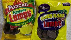 Cadbury has just crossed Pineapple Lumps and Perky Nana bars to create Perky Nana Lumps!
