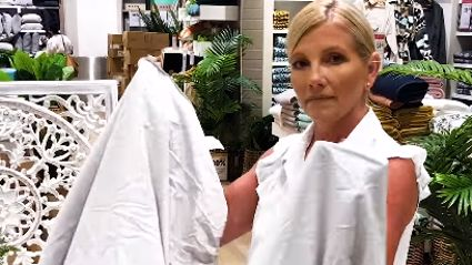 Video goes viral showing how to fold a fitted sheet perfectly in just ONE minute!